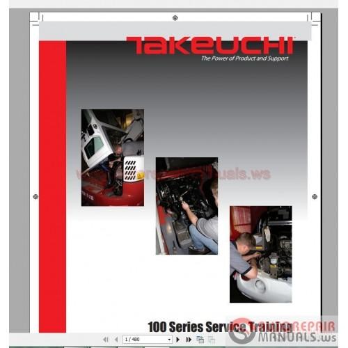 Takeuchi Full Set Service Training, Service Manual, Operator